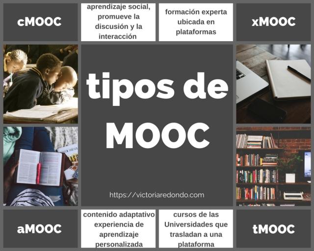 Infografia de tipos de MOOC que mejoran tu empleabilidad