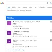 Buscar empleo con Google y otros agregadores