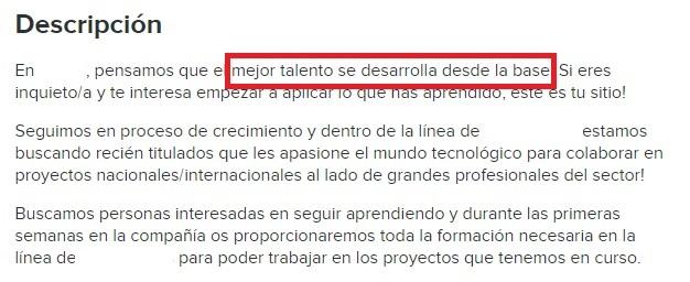 Discriminación por edad, edadismo, en las ofertas de empleo. El talento senior existe.
